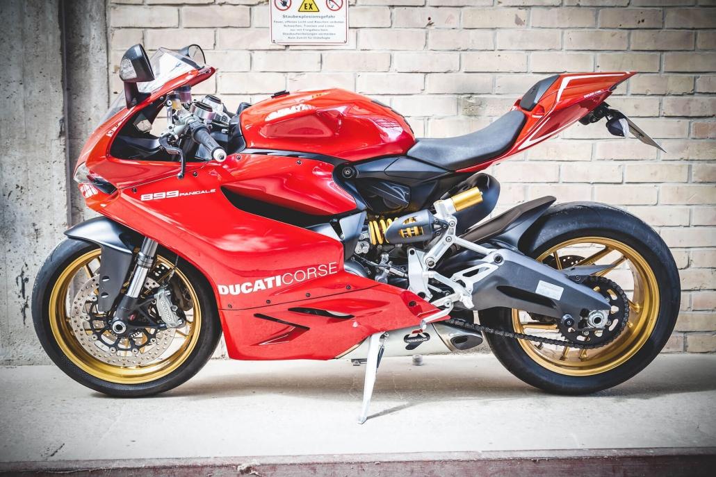 italienisches Motorrad