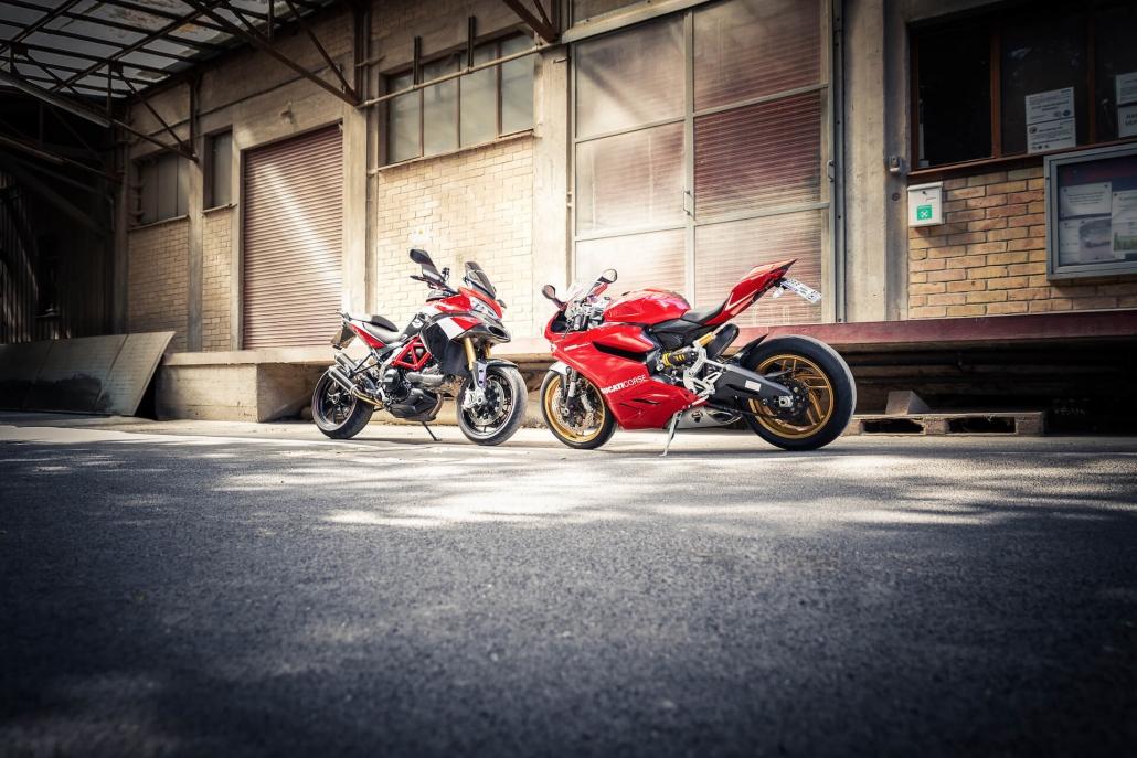 Bild von Motorräder