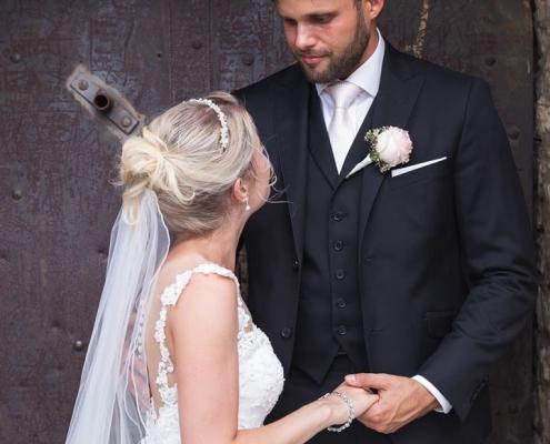 Bild von einem Brautpaar